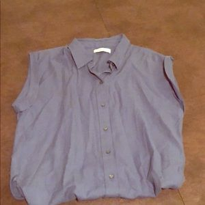 Abercrombie capped sleeve top